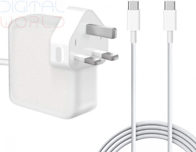 $83.41 • Buy 61W USB C Power Adapter Compatible With Mac Book Pro/Air Charger, Works...