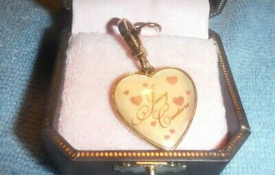 £42 • Buy Juicy Couture GOLD Heart❤️ Bracelet Charm NEW RARE