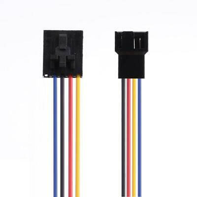 £4.26 • Buy 2pcs 5 Pin To 4Pin Fan Connector Adapter Converter Extension Cable Wire For Dell