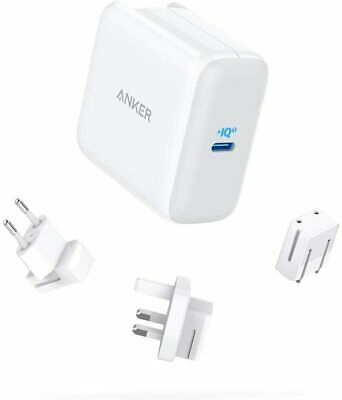 AU61.21 • Buy USB C Charger, Anker 65W PIQ 3.0 Type-C Charger, PowerPort III 65W, With US/UK/E