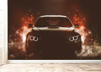 £34.99 • Buy Super Sports Car With Spark Wall Mural Photo Wallpaper UV Print Decal Art Décor