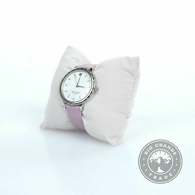 $ CDN45.10 • Buy USED Kate Spade New York KSW1625 Morningside Quartz Watch In Silver / Purple