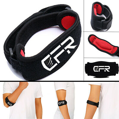 £14.99 • Buy Tennis Elbow Brace Strap Tendonitis Golfers Gel Band Golf Pain Relief Support M