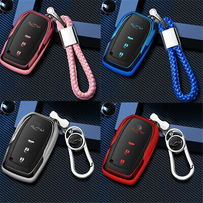 $11.96 • Buy Car Key Case Cover Smart Remote Bag For Toyota Camry Honda Carola Prado RAV4