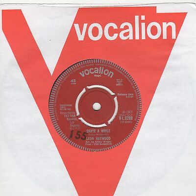 £40 • Buy Leon Haywood Skate A While Vocalion DEMO VL9288 Soul Northern Motown