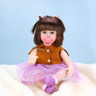 $ CDN35.08 • Buy 16.5'' Lifelike Reborn Newborn Baby Dolls Realistic Vinyl Cotton Handmade Toy US