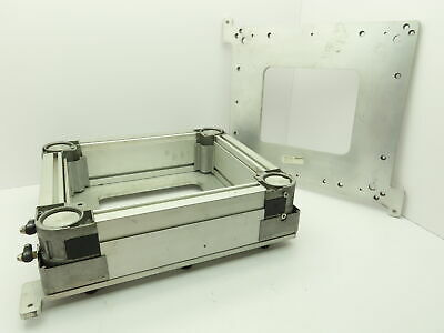£109.11 • Buy Rexroth Conveyor Parts Pneumatic Cylinder Lift Positioner Mounting Plate 1.75