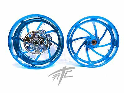 $3199.99 • Buy Gsxr 330 Fat Tire Candy Blue Piranha Wheels 01-08 Suzuki Gsxr 1000