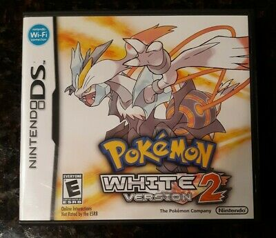 $72 • Buy Pokemon White Version 2 Nintendo DS **CASE & MANUAL ONLY** Authentic