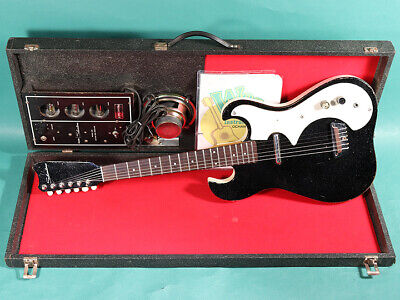 $ CDN2055.63 • Buy Silvertone MODEL 1448 Mail-order Limited Ver. 1962 W/ Amp-in-case Guitar As Is