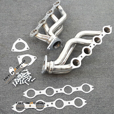$187.99 • Buy Stainless Exhaust Headers For Chevy Silverado/GMC Sierra 1500 2500 3500 6.0L New