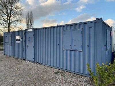 £6750 • Buy 32ft Portable Office Site Cabin Canteen Welfare Unit Anti Vandal