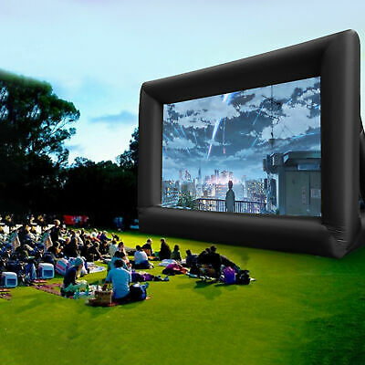 AU172 • Buy Inflatable Movie Screen Outdoor Projector Screen Cinema Lightweight Portable