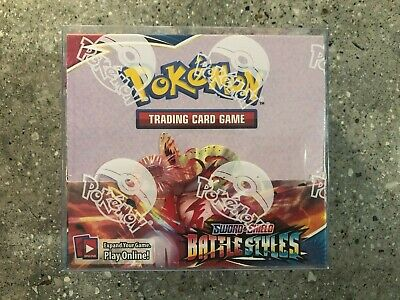 AU199.99 • Buy Pokemon TCG 1x Battle Styles Booster Box Genuine Factory Sealed IN HAND + Case