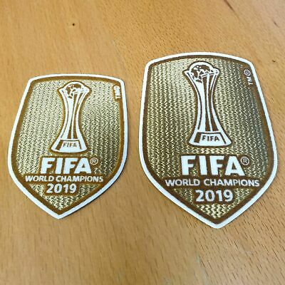 £4.99 • Buy Club World Cup 2019 Champions Badge Patch Liverpool FC  2019-2020