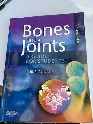 Bones And Joints: A Guide For Students By Chris Gunn Mixed Media Product Book • 19.99£