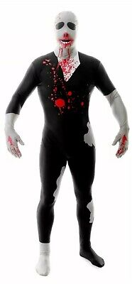 £11.99 • Buy Morphsuit Zombie Full Body Costume Size L Halloween Party Suit