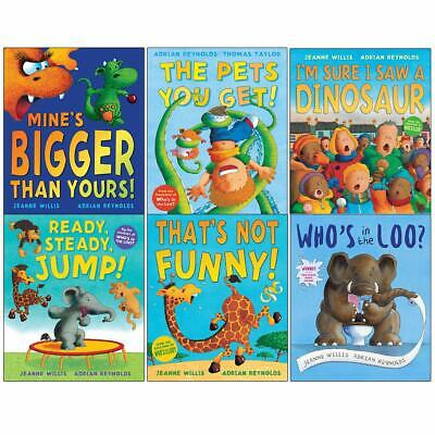 £14.97 • Buy Jeanne Willis Whos In The Loo 6 Picture Books Set By Jeanne Willis & Adrian