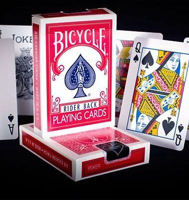 £4.49 • Buy Bicycle Rider Back 807 Poker Playing Card Deck - Classic Tuck Box. Red.