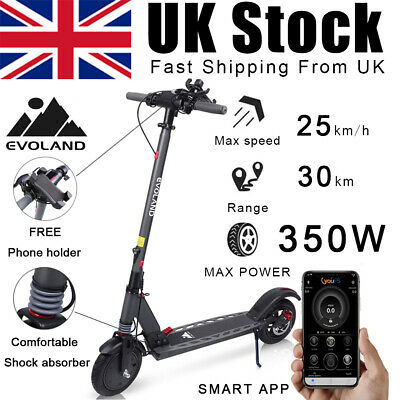 View Details 350W Adult Pro Electric Scooter Folding E-Scooter 36V 18.5 Mile Range Big Whell • 305.99£