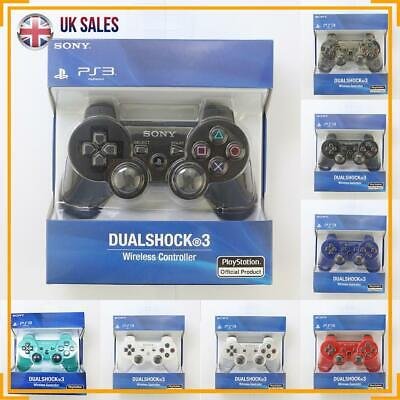 PS3 Controller Official SONY GamePad PlayStation DualShock 3 Wireless Controller • 11.99£