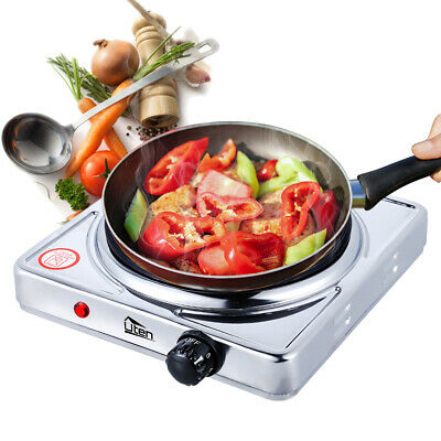 £15.99 • Buy UTEN Single Electric Hot Plate Portable Table Top Cooker Hob 1500W  Burner Stove