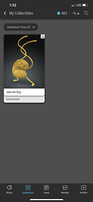 $150 • Buy VeVe Jake The Dog NFT Adventure Time Series 1 (SOLD OUT)