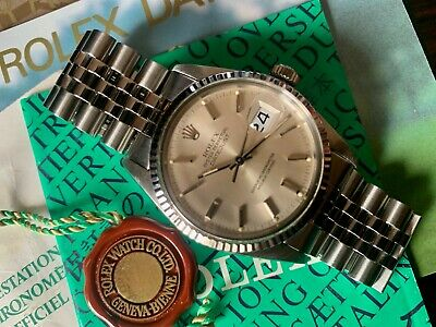 $ CDN8882.10 • Buy Rolex Datejust 16014 36mm From 1984 With B&P
