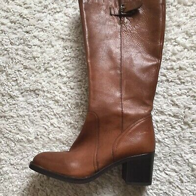 £39 • Buy CLARKS Mascarpone LADIES TAN KNEE LENGTH LEATHER BOOTS SIZE 7.5. Used. RRP£165