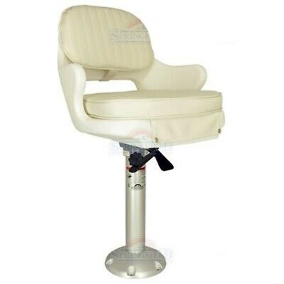 $ CDN361.86 • Buy Springfield Pilot Captain Chair-Seat With 18  Pedestal Seat Package #3 Boat