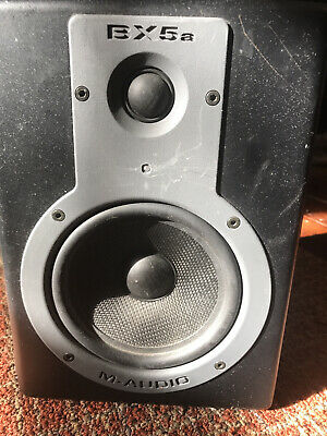 $29.99 • Buy M-Audio Studiophile BX5A  SINGLE Monitor Speaker Works But Has Buzz [for Parts]