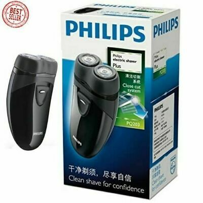 PHILLIP Electric Travel Shaver Cordless Battery Powered Mens Self Sharpening NEW • 23.72£