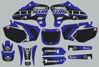 $98.99 • Buy Blue YAMAHA GRAPHICS WR 450F WR450F 2003 2004 2005 Decals
