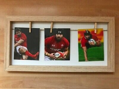 £9 • Buy Leigh Halfpenny - Welsh Rugby Greats - 3 In 1 Picture Frame (30x15cm).