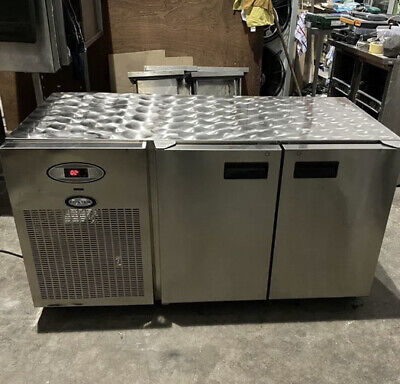 £595 • Buy Foster Undercounter Fridge Double Door Stainless Steel Catering X 2 Available