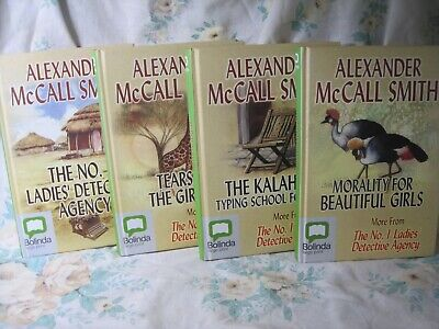 AU28 • Buy Alexander McCall-Smith (4 Large Print Hardcover)  Ladies Detective Agency Storie