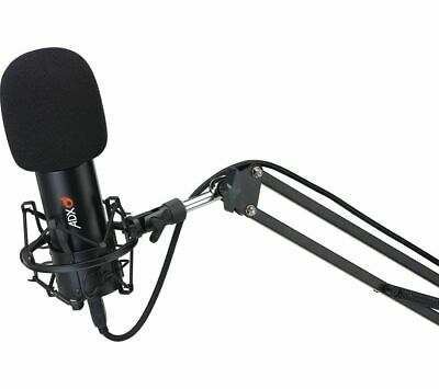 £39.99 • Buy ADX ADXFC0220 Microphone & Boom Arm - Black - Currys
