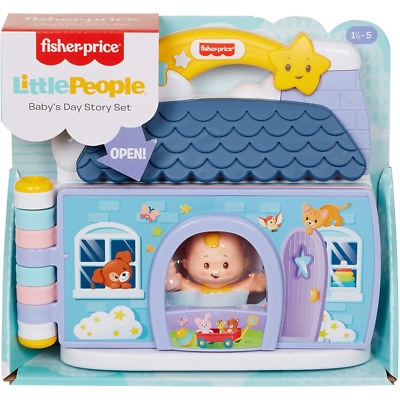 £14.99 • Buy Fisher-Price Little People Babies Story Set [GMK20]