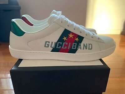 AU600 • Buy Gucci Ace Sneaker With 'Gucci Band' Embroidery (UK7.5/EU41.5) - BRAND NEW