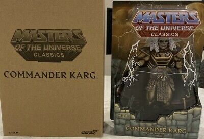 $49.99 • Buy Masters Of The Universe Classics Super 7 Movie Collection Commander Karg