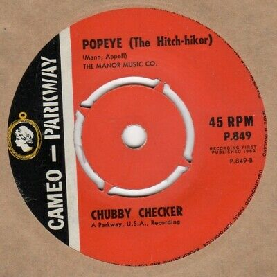 £6 • Buy Chubby Checker Popeye Cameo Parkway P849 Soul Northern Motown