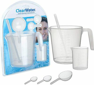 £11.99 • Buy Clearwater Measuring Set Swimming Pool Lay Z Spa Hot Tub Chemical Treatment