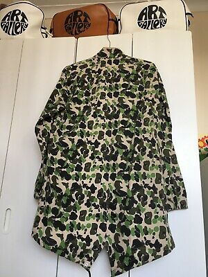 £50 • Buy Converse Camouflage Parka Mens Small BNWT Liam Gallagher Style