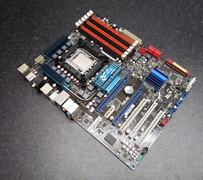 $ CDN189.58 • Buy ASUS P6T SE LGA1366 ATX Motherboard X58 Chipset With Intel I7-920 - No Backplate