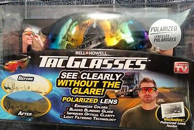 AU22.99 • Buy Tac Glasses Bell Howell New And Sealed Polarized Lens