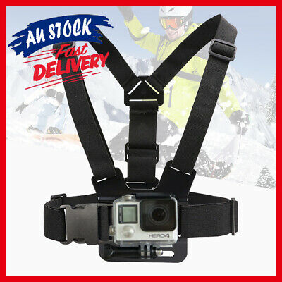 AU11.52 • Buy Compatible With GoPro Hero Elastic Harness Mount Chest Camera GoPro Strap