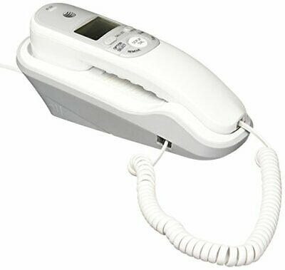 £27.64 • Buy Corded Phone With Caller ID, White