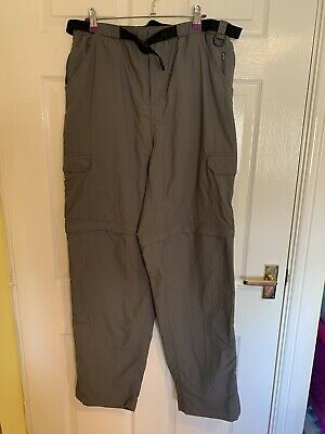 £7.99 • Buy Grey Peter Storm Trousers Size 34 Long (A3932)
