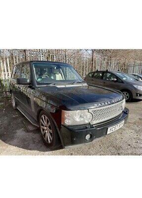 2007 Range Rover Vogue Sc 4.2 V8 Supercharged Auto Lpg Gas Spares Or Repairs • 3,450£
