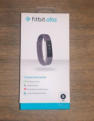 $ CDN91.88 • Buy Fitbit Alta Wristband Activity Tracker Plum Purple Size Small Factory Sealed NEW